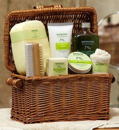 Healing Lemon Avocado & Olive Spa Basket