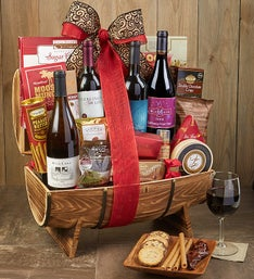 The Classic Collection Wine Gift Basket