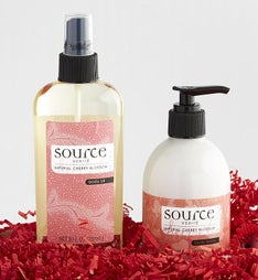 Source Verite Cherry Blossom Spa Set