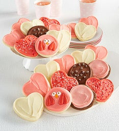 Cheryl's Premiere Frosted Valentine's Cookies