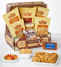 The Popcorn Factory College Suitcase of Snacks