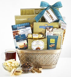 Get Well Soon! Healing Thoughts Gift Basket