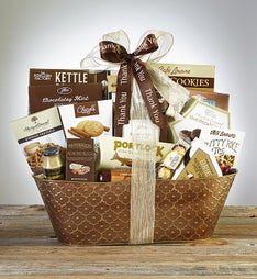 Taste of Tradition Thank You Gourmet Gift Basket