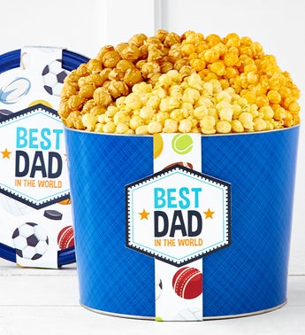 The Popcorn Factory Happy Fathers Day 3 Flavor 2G Tin