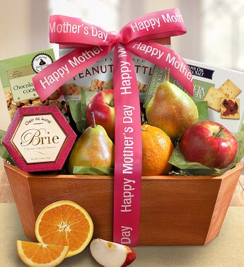 Mothers Day Fresh From The Orchard Fruit Basket