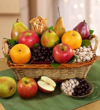 Modesto Valley Fruit  Nut Gift Basket