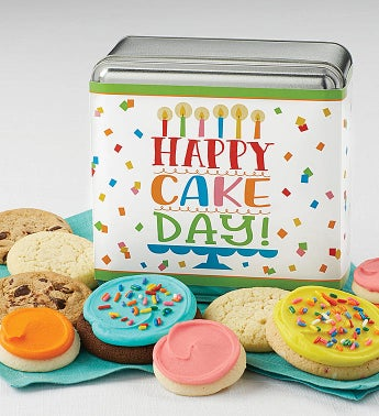 Happy Cake Day Gift Tin