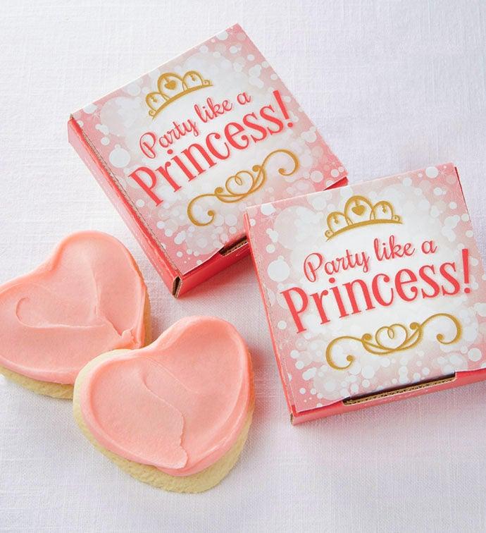 Party Like a Princess Cookie Card