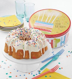 Miss Grace Birthday Cake with Gift Tin