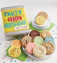 Party Like Its Still Your Birthday Gift Tin