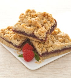 Raspberry Crumb Bar