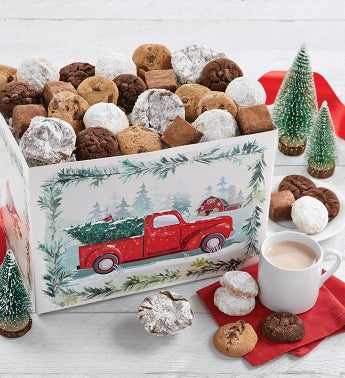 Festive Holiday Dessert Gift Box