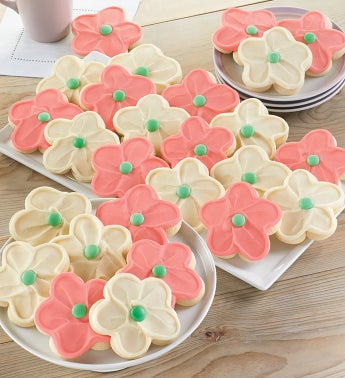 Buttercream Frosted Cut Out Cookies