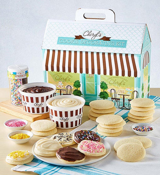 Cheryls Cut-Out Cookie Decorating Kit
