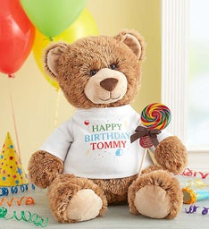 "Personalized Tommy Teddy ""Celebrate!"""