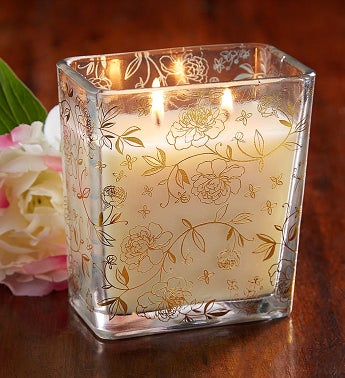 Fields of Flowers Peony Candle
