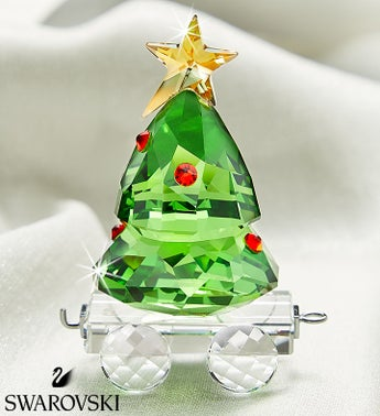 Swarovski Christmas Tree Wagon