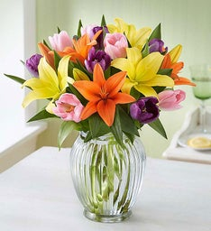 Celebrate Spring Bouquet + Free Vase