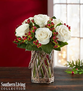 Happy Holiday Bouquet by Southern Living