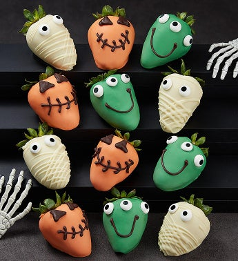 Monster Dipped Strawberries