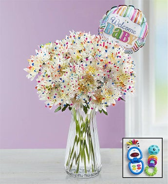 Playful New Baby Bouquet