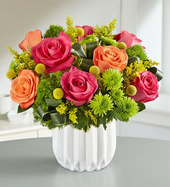 Modern Sunset Bouquet