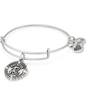 Alex  Ani Because I Love You Bangle