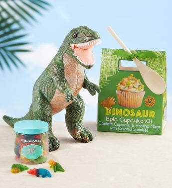 T-Rex Plush with Dino Treats