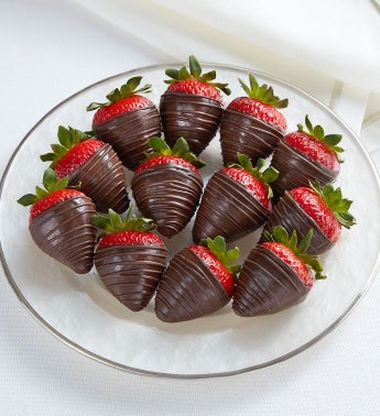 Dark Chocolate-Covered Strawberries 8211 12 Count