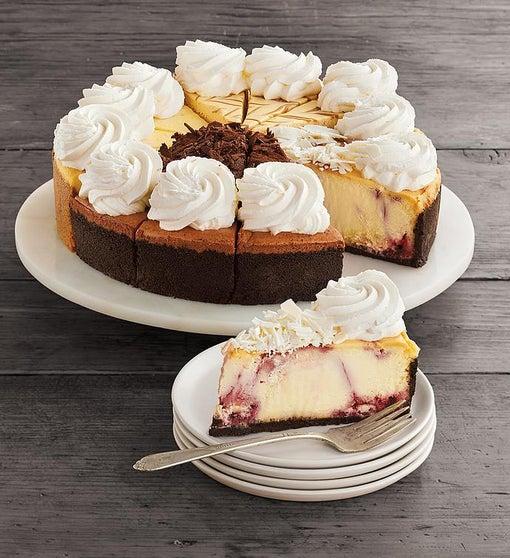 "The Cheesecake Factory® Sampler Cheesecake - 10"""