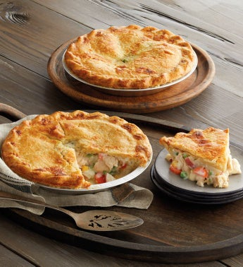 Chicken Pot Pie Duo