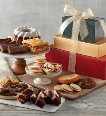 Holiday Bakery Gift Tower