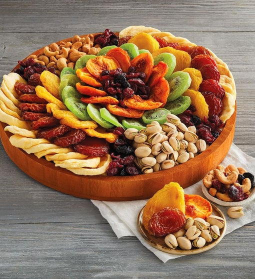 Dried Fruit and Nut Wreath
