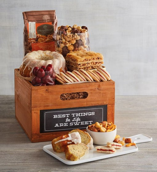 """Best Things in Life"" Gift Basket"