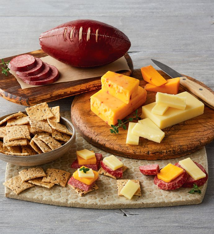 Football Sausage and Cheese Gift