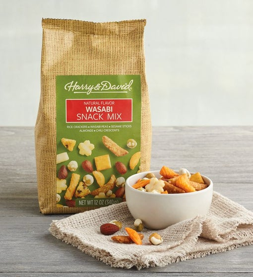 Wasabi Snack Mix