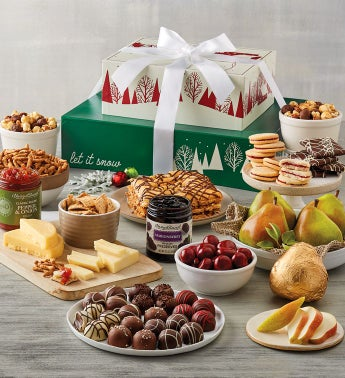 Holiday Sweet and Savory Gift Tower