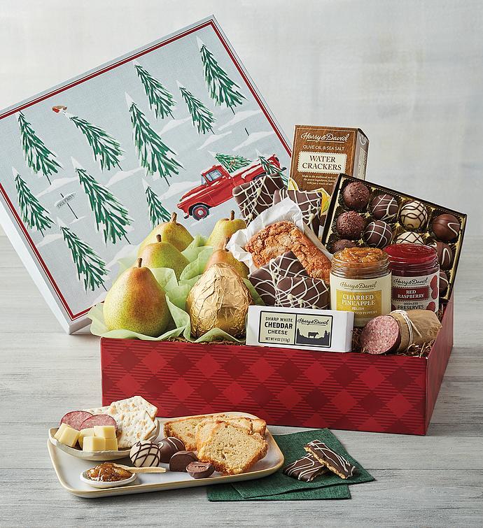 Winter Scene Gift Box
