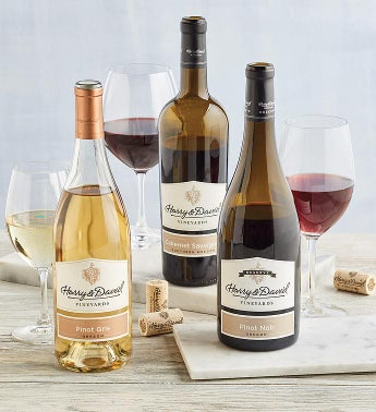 Harry  Davidtrade Award-Winning Wine Trio