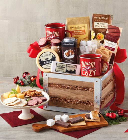 Southern Living Fireside S'mores Gift Basket