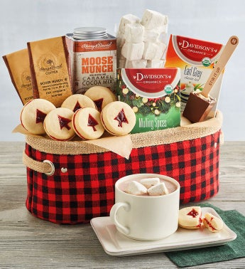 Warm and Cozy Gift Basket
