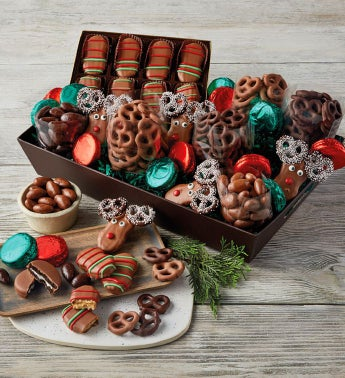 Holiday Belgian Chocolate Gift Box
