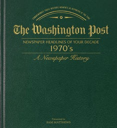 Washington Post 70s Decade Book