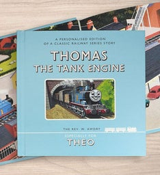 Personalized Thomas The Tank Engine Storybook
