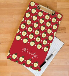 Personalized Teachers Apple Clipboard