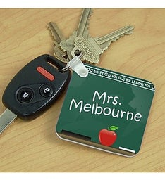 Personalized Teacher Key Chain