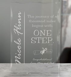 Graduation Keepsake Block