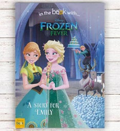 Personalized Frozen Fever Storybook