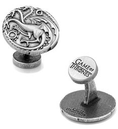 Targaryen Three Headed Dragon Sigil Cufflinks