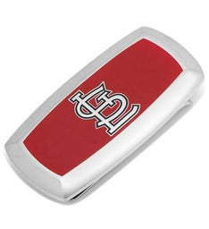 St Louis Cardinals Cushion Money Clip